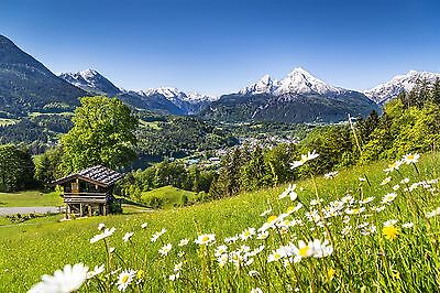 Germany Alps Mountains landscape Wall Mural Photo Wallpaper GIANT WALL DECOR