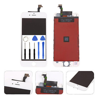 """Replacement LCD Display Touch Screen Digitizer Assembly For iPhone 6 White 4.7"""""""