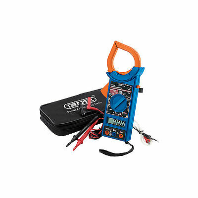 Draper Digital AC/DC Autoranging Clamp Meter With Battery Automotive 04698 DCM1B