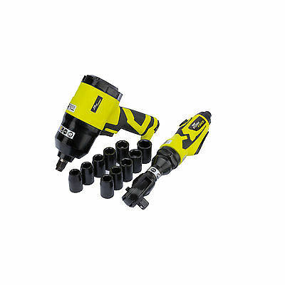 """Draper Storm Force Professional Composite 1/2 Air Ratchet and Impact Wrench Kit"""""""