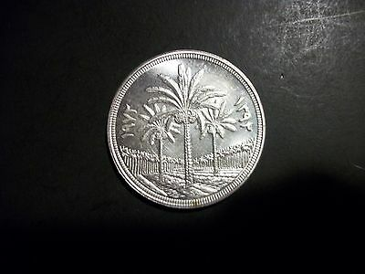 Iraq 1972 1 Dinar Silver large unc Coin
