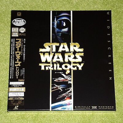STAR WARS Trilogy - RARE 2000 JAPAN LASERDISC BOX SET + OBI (Cat No. PILF-2860)