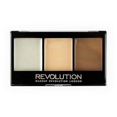 *NEW* MakeUp Revolution Ultra Cream Contour Kit Lightening Contour 11g Sealed