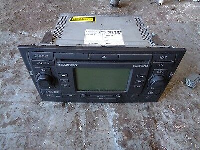 Ford Mondeo 2.0 Diesel 2005 Blaupunkt Cd Player Travel Pailot Ex (Not Tested)