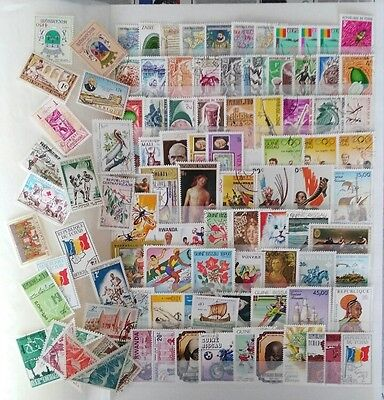 100 francobolli AFRICA - 100 stamps from AFRICA as picture