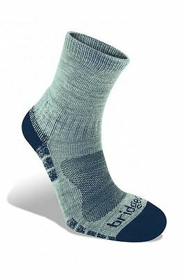 Bridgedale WoolFusion Trail Light Silver / Navy Socks XL 12+