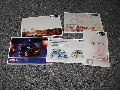 Smart   Car Brochure   Pack  2009   Five Brochures  Free Uk  Post And Packing