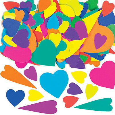 2000 Heart Card Mosaic Shapes to Decorate Valentines Day Card Craft Scrapbooking