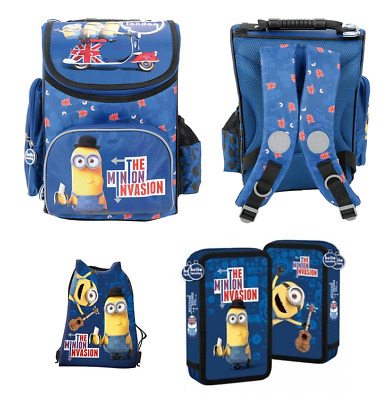 ONE EYED MINION RUCKSACK BAG DESPICABLE ME SCHOOL COLLEGE HOLIDAYS BACKPACK
