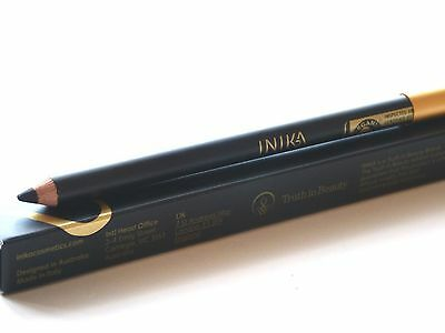 INIKA Certified Organic Eye Liner 05 Black Caviar Full Size New Boxed Authentic
