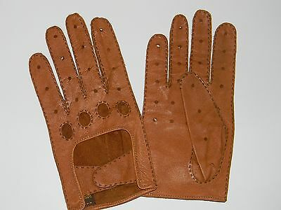 Daniel Hays Men's Size Medium Leather Driving Gloves - Never Used