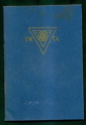 1932 Young Women's Christian Assoc.(YWCA) West Chester Teachers College Handbook