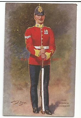 The Border Regiment by Artist Harry Payne Military Vintage Postcard