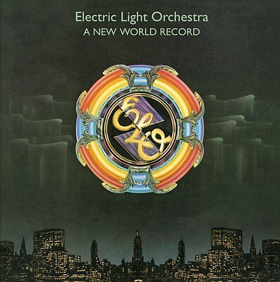 ELO ELECTRIC LIGHT ORCHESTRA A New World Record 180gm CLEAR Vinyl LP NEW SEALED