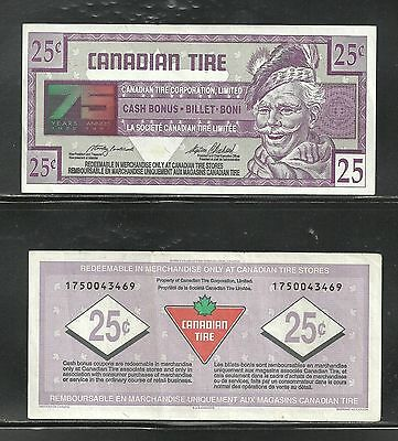 Canadian Tire Replacement Note  1750043469