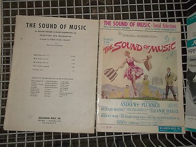 The Sound Of Music Vocal Orchestra Selection Julie Andrews Sheet Music (Wl43)