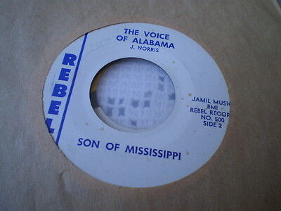 Son Of Mississippi - The Voice Of Alabama - Us Rebel 45