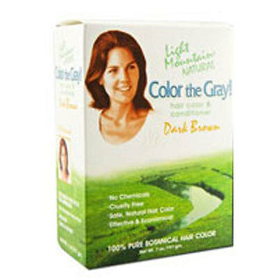 Color The Gray Brown-Dark 7 Oz by Light Mountain