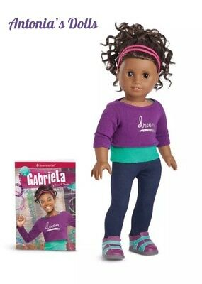 American Girl Gabriela McBride Doll & Book New In Box Gabriella Gabrielle NIB