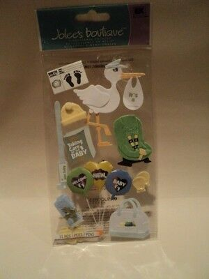Ek Success Jolee's Boutique Bringing Baby Home Dimensional Stickers Bnip