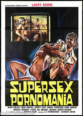 Supersex Pornomania Manifesto Cinema Film Eros Lust For Revenge Movie Poster 2F