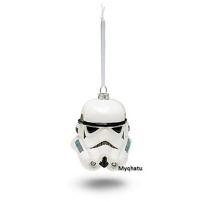 Star Wars Stormtrooper Head Blown Glass Christmas Ornament by Hallmark