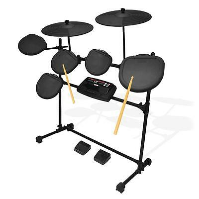 PylePro PED02M Electric Thunder Digital Electronic Drum Kit With MP3 Recorder