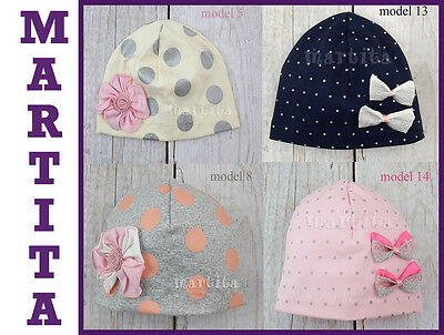New Baby Girl Kids Toddler Spring Autumn Cute Flawer Cotton Soft Hat Cap 2-3 Age