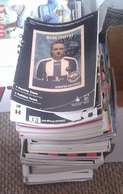 124 Mixed 2000-2015 Non League Football Programmes all listed