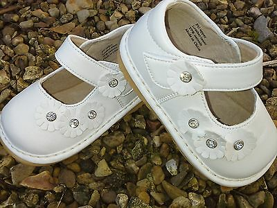 Girls White Shoes Flower Girl Special Occasion Birthday Party Wedding Communion