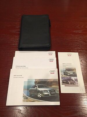 2007 Audi A8 Owners Manual Set With Navigation Manual
