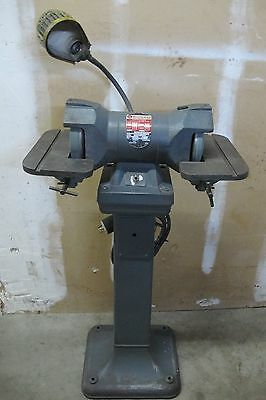 "ROCKWELL 6"" CARBIDE GRINDER w/STAND    / 3 PHASE"