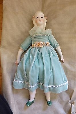 Parian Reproduction doll, Jeune Fille by Marie Berger