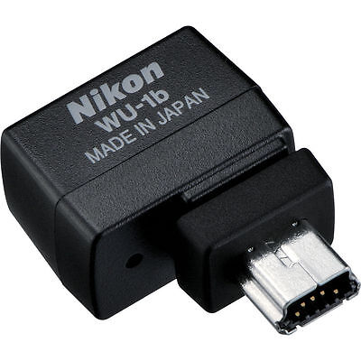 Nikon WU-1b Wireless Mobile Adapter for D600, D610, AW1, S1, J3, & V2