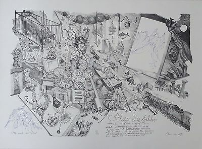 """CHRIS ORR RA b1943 Limited Edtion Lithograph """"1796 & All That"""" edition of 50"""
