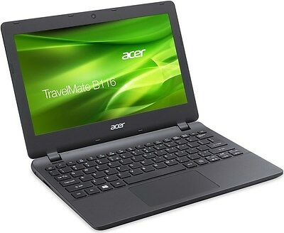 "Acer TravelMate B TMB116-MP Laptop N3050 500GB 4GB 11.6"" Touchscreen Win 10 NEW"
