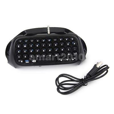 Mini Bluetooth V3.0 Wireless Keyboard Keypad + Charging Cable for Sony PS4 Game