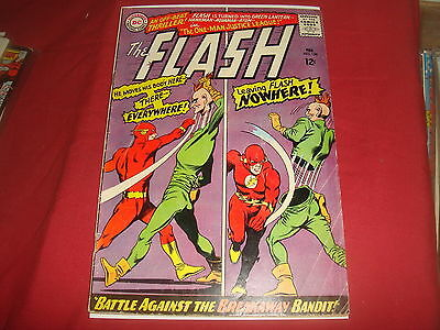 THE FLASH #158 Silver Age  Barry Allen  DC Comics 1966 VG/F