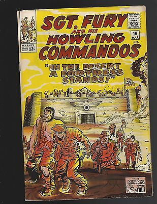 Sgt Fury & His Howling Commandos #16 In The Desert A Fortress Stands!