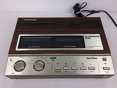 Vintage Panasonic KX-T1524DBE Easa-Phone Automatic Telephone Answering System