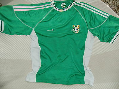 Rep of IRELAND Supporters Jersey Size XL pit 2 pit 23in