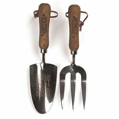 Natural Hand Trowel and Fork Set **RRP: $59.95**