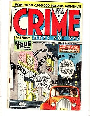 Crime Does Not Pay 63 (1948): FREE to combine- in Good-  condition