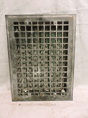 Vintage 1920S Iron Heating Grate Rectangular 16 X 12     H