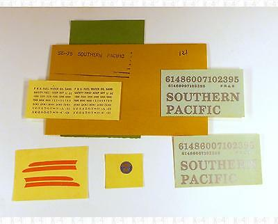 Enhorning S Decals Southern Pacific Cab Diesel Silver SE-75