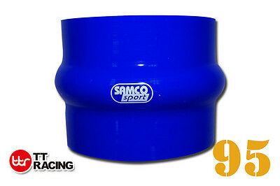 """Silicone Hump Hose Coupler 95mm 3.75"""" (3-ply) Samco"""