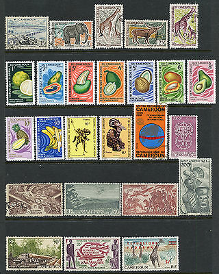 Cameroun Collection - French, German, Independent Issues - Mint & Used