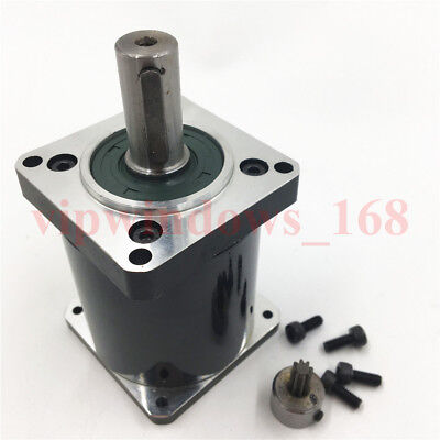 Nema23 Planetary Gearbox Gear Ratio 100:1 14mm Shaft L70mm for CNC Router