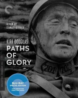 Paths of Glory [Criterion Collection] (2010, Blu-ray NEUF) BLU-RAY/WS (RÉGION A)