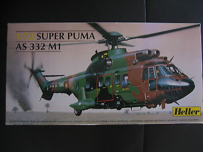 HELLER * 80367 * SUPER PUMA AS 332 M1  Helicopter 1:72   3279510710137